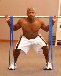 Эластичная лента для фитнеса
