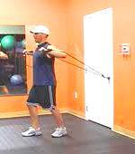 нарастить мышцы эспандером