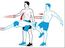 нарастить мышцы с лентой