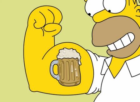 Пиво и мышцы
