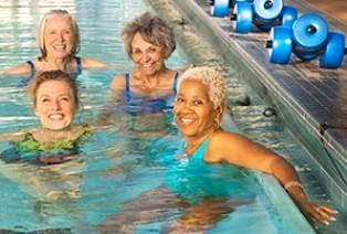 Плавание для женщин в возрасте