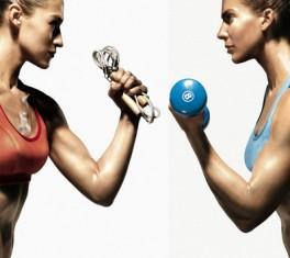 силовые и кардио тренировки