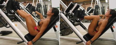 Тренировка подколенных сухожилий
