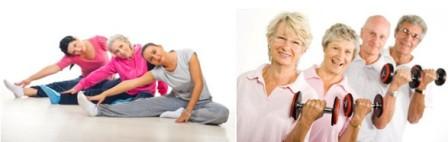 Упражнения на гибкость и мышечный тонус