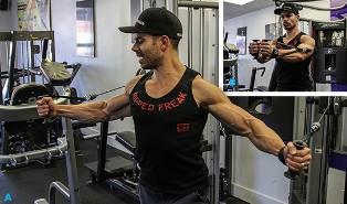 увеличить грудь с помощью упражнений