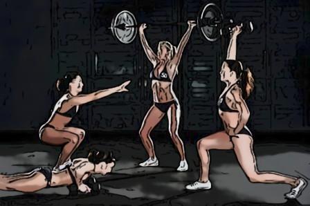 Круговые тренировки для девушек