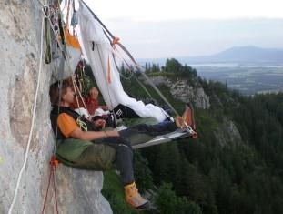 кемпинг на скалах