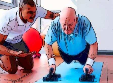 Силовые тренировки для пожилых