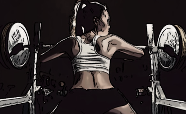 Тренировки девушек на жиросжигание